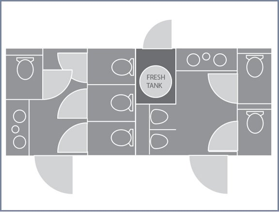Floor Plan 8x20