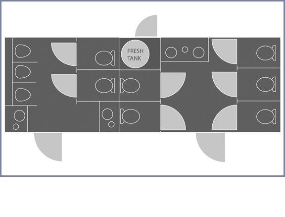 Floor Plan 8x25