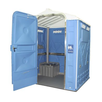 Senator Portable Toilet Open