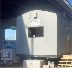 water system in trailer